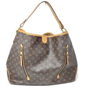 Auth Louis Vuitton Delightful GM Hobo Shoulder Bag